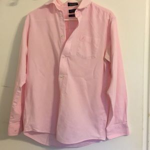 Nautica Oxford Pink Button Down Dress Shirt